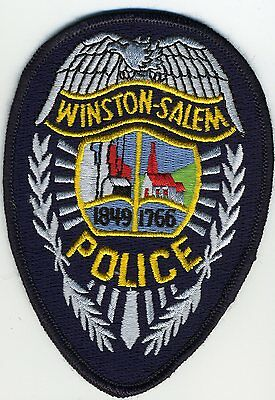 Winston Salem Police Patch North Carolina NC