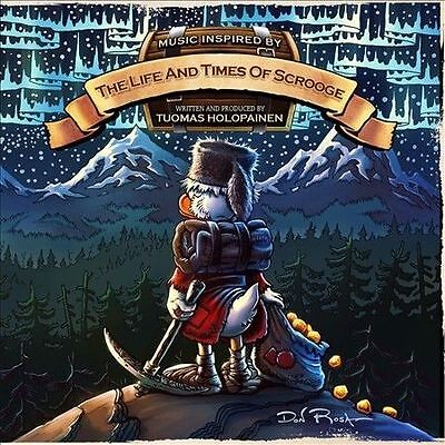 TUOMAS HOLOPAINEN - The Life And Times Of Scrooge CD