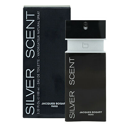 SILVER SCENT 100ml EDT Spray For Men by JACQUES BOGART
