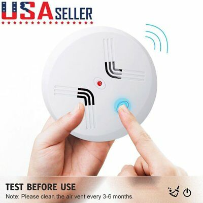 Combo Alarm Gas Smoke and Carbon Monoxide Detector w/Battery Backup for House US