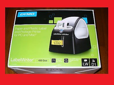 @@new Dymo Labelwriter 450 Duo Thermal Label Printer 1752267@@