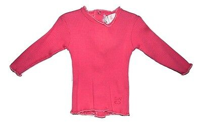 Confetti Baby Girl Long Sleeve Top - Pink Size 000 3 Months