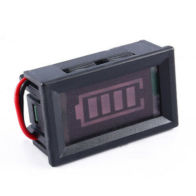 12V Lead acid Battery Capacity Tester Panel Voltage LED Display Indicator Eager