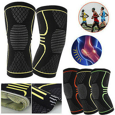Sport Neoprene Patella Knee Sleeve Brace Compression Support Pain Relief S/M/L