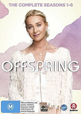 OFFSPRING - COMPLETE SEASON 1 2 3 4 5 6   -  DVD - UK Compatible - New & sealed