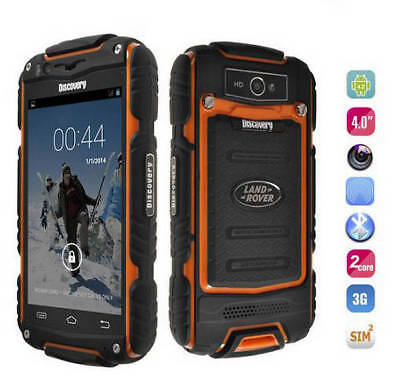 3G Android Smartphone Unlocked 4 Inch Discovery V8 Dual Core Rugged Mobile Phone