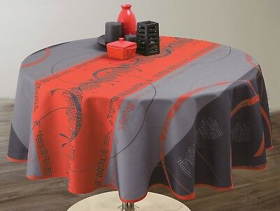Nappe anti-taches Astrid rouge