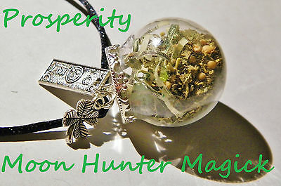 Prosperity Witch Ball Money Spell Pagan Wiccan Reiki Money Drawing Spell
