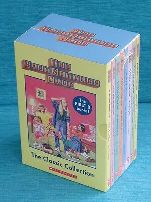 Baby-Sitters Club Classic Collection New Sealed 8 Books Ann M Martin Babysitters
