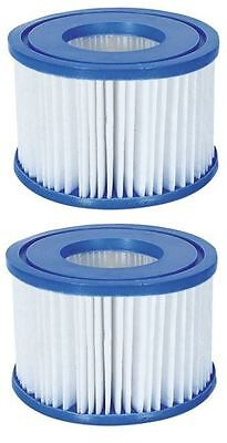 2Xv1 Bestway Pool Lay-Z Spa Hot Tub Filter Cartridges Vegas Paris Miami