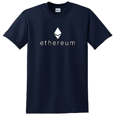 Ethereum T-shirt Cryptocurrency tee many color choices