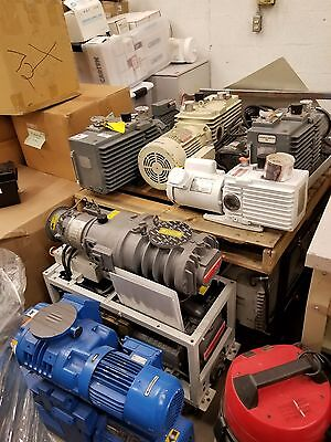 Pump Vacuum Leybold Edwards Wet and Dry Pumps with Blower Bulk Sale