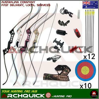 Recurve Bow Hunting Bow Takedown Target shooting Archery Pro Kit Free shipping