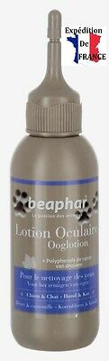 Lotion oculaire nettoyant yeux animaux chien chat 125 ml BEAPHAR