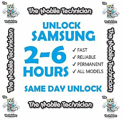 Unlock Code For Samsung All Models O2 Ee Vodafone Note 2 3 4 S6 S7 S8 24-48 Hour