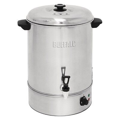 Buffalo Manual Fill Water Boiler 40Ltr 630x433x440mm Stainless Steel Heater