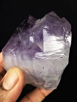 Amethyst Crystal Cluster Point - 320g Large Natural Rough Stone Specimen Mineral