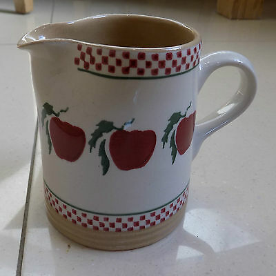 nicholas mosse apple small cylinder   jug 12cm tall    new