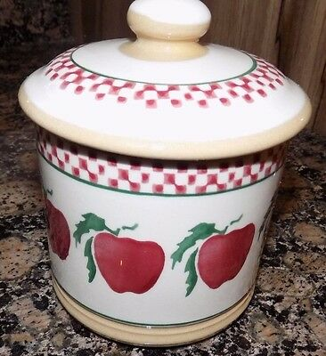nicholas mosse  APPLE   SUGAR POT COVERED 12CM new