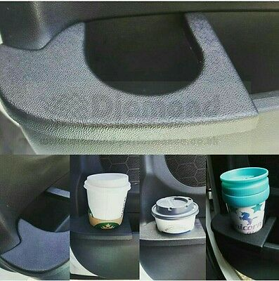 CITROEN DS3 Cup Drinks Holder, Left&Right Hand side (SET),Black Textured ABS.