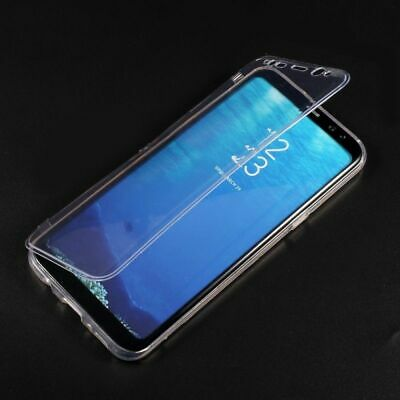 Wallet Flip TPU Gel Front and Back Case Cover for Samsung Galaxy S8 / S8+ Plus