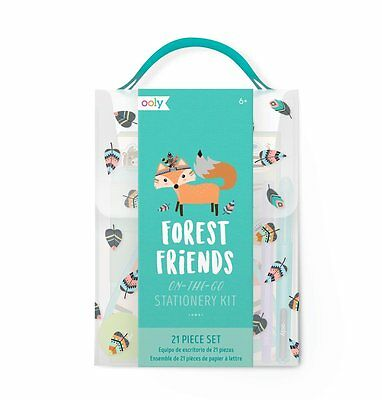 OOLY Gift Set Forest Friends Stationery Kit with 138-005