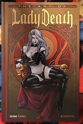 Boundless The Art Of LADY DEATH Volume 1 Ltd 3500 Signed by Brian Pulido HC