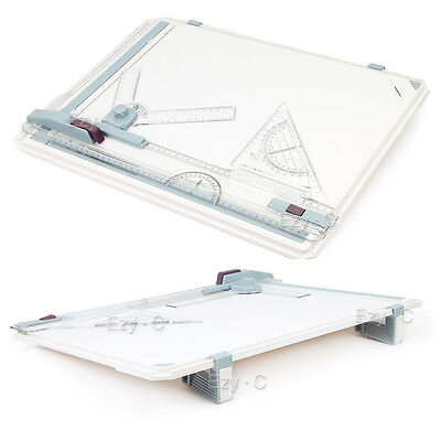 A3 Drawing Board Portable Drafting Table With Parallel Motion& Adjustable Angle