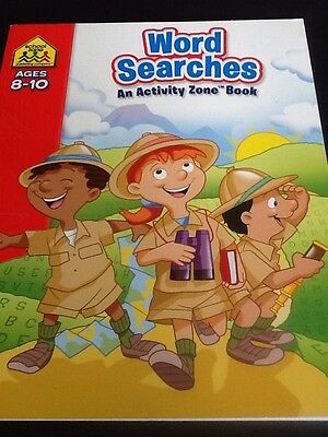 Word Searches Activity Zone Book For Age 8-10 ISBN9781741835496 Puzzles & Search