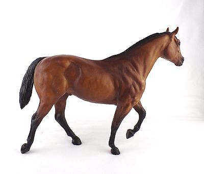 Breyer Stock Horse Stallion Model 226 Bay Quarter Black Points SHS USA Vintage