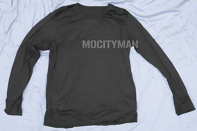 Military Peckham Polartec Power Dry Base Layer Shirt  Large Regular USA Made