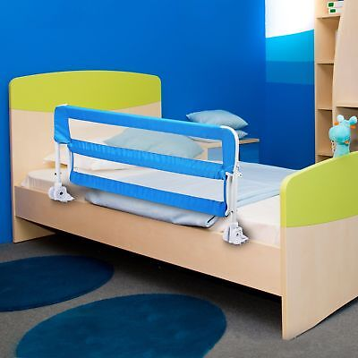 Baby Kid Protection Safety Sleep Bed Rail Barrier Guard Large/Small Blue New