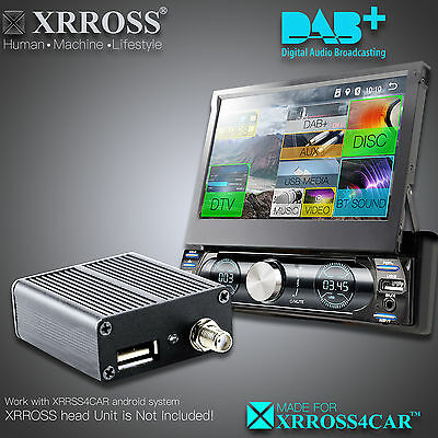 XRROSS Car Digital DAB+ Receiver Antenna for Android XRROSS4CAR