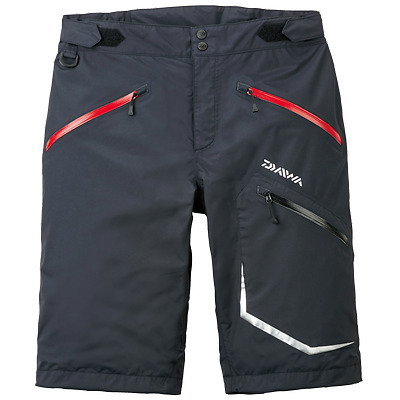 Sale Daiwa DR-5007P Shorts Water Resistant Lightweight Black Size L 251129