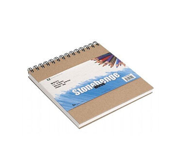Stonehenge Wired White 32 Sheets 250gsm 17.78x17.78cm