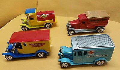 Readers Digest Collector's Set of 4 Classic Trucks - Brand New In Original Box