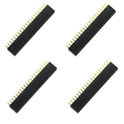 4Pieces PCB +electronic components 40Pin GPIO Female Headers for Raspberry Pi B+