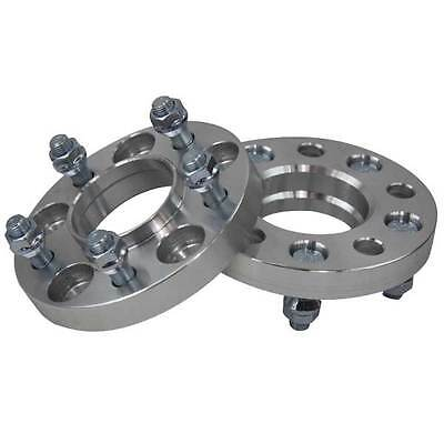 2PCS 5 Lugs 5x120 25mm Wheel Spacers Adapter For Holden Commodore