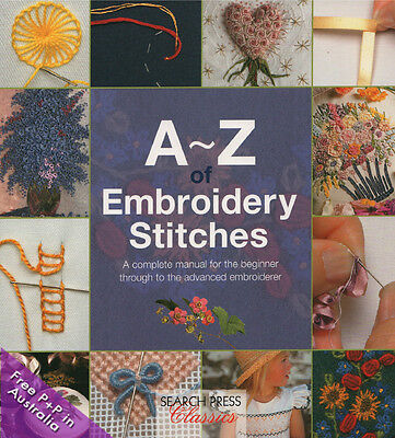 NEW A-Z Of Embroidery Stitches by Country Bumpkin