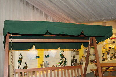 Spare Canopy for a 3 Seater Garden Swing Seat or Hammock in Green