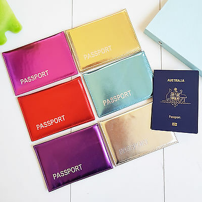 Passport Cover Holder Wallet Case Organizer Protector Travel Accessories Sleeve