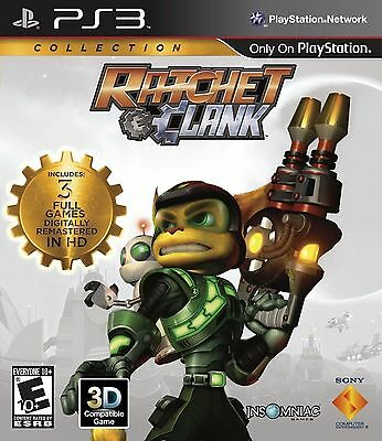 Ratchet and Clank Trilogy Collection PS3 Game Brand New In STOCK