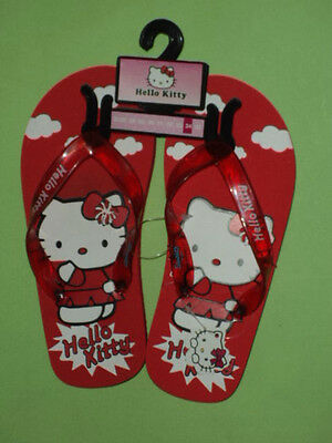 + N. 32 Infradito Hello Kitty Sanrio Teen Ager Nuove Blisterate