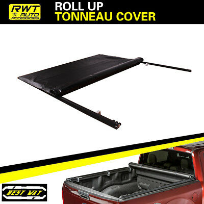 Soft Lock Roll Up Tonneau Cover FOR 1999-2016 Ford F-250/350 Super Duty 8 FT BED