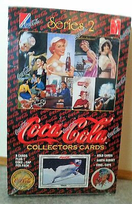 Coca-Cola Series 2 Collectors Cards Trading Cards Factory Sealed Box ©1994