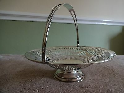 Antique Mappin & Webb Silver Plated Cake/bread Basket.