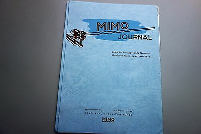 Katalog  - 7 x Mimo Journal 1943 Luxusuhren Otto Graef Damenuhren Herrenuhren