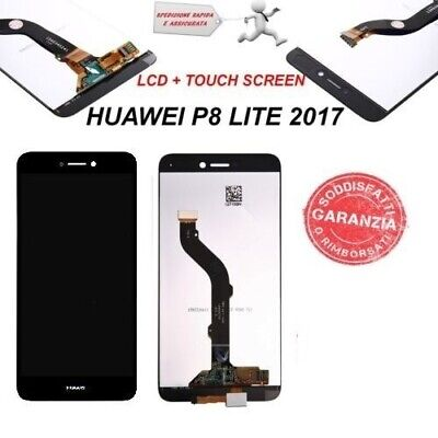 LCD DISPLAY HUAWEI P8 Lite 2017 TOUCH SCREEN PRA-LA1 PRA-LX1 PRA-LX3 NERO
