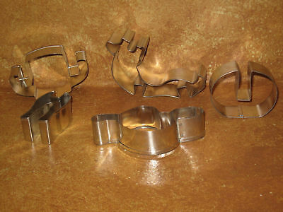 Cowboy Hat Western Themed Cutter Metal Cookie Cutters Baking Cookies West