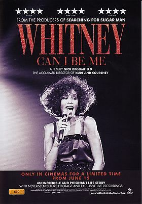 Whitney Can I Be Me A5 Poster (2017) - Whitney Houston